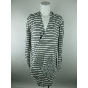 Dressbarn Sunday NEW Wrap Striped Sweater